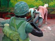 My Lai Memorial Site - Vietnam - Diorama of Massacre