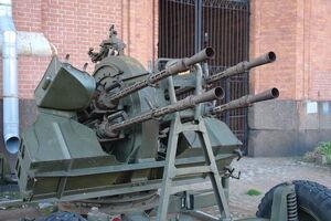14,5-мм счетверенная зенитная пулеметная установка конструкции Лещинского ЗПУ-4 (4)