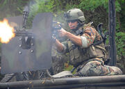 U.S. Navy special warfare combatant-craft crewmen (SWCC), Special Boat Team 22 conducts training 16 AUG 09