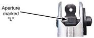 M16A1 rifle rear sight FM 3-22.9 (23-9) Fig 2-3