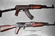 AKMS and AK-47 DD-ST-85-01270