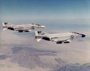 F-4B VMFA-513 1964