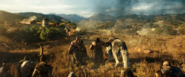 Warcraft movie teaser-Orcs wolf burning fields-1920x794