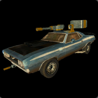 Chassey Blue Vehicle- Arcade