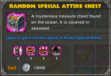 Top up chest