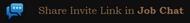 Job Chat Invite Link