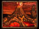 Volcano fortress