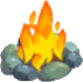 Flint fire symbol