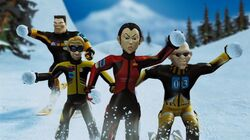 Hoodwinked-ski-team-snowballs