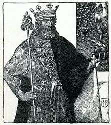 Arthur-Pyle King Arthur of Britain-1-