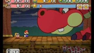 Paper Mario- The Thousand Year Door - First Boss Battle- Hooktail