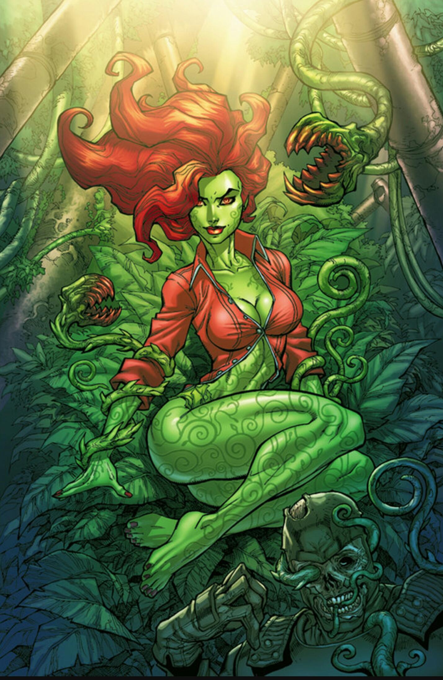 poison ivy girl naked