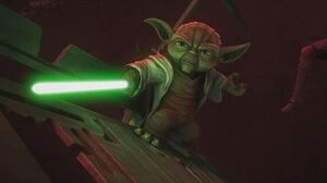 Star Wars The Clone Wars - Yoda & Anakin vs
