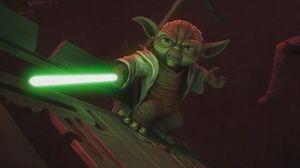 Star Wars The Clone Wars - Yoda & Anakin vs