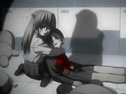 161890-elfen lied nyuu lucy kouta nana lynn okamoto anime manga ecchi shirakawa arakawa isobe1 super