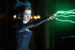 Evanora using her powers
