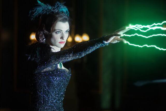 File:Evanora using her powers.jpg