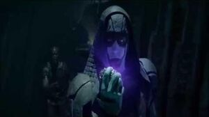 Ronan and Thanos scenes Guardians of the Galaxy