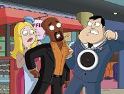 New Klaus with Stan & Francine