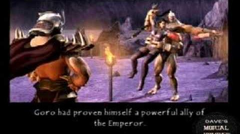 Mortal Kombat Deception Goro Ending