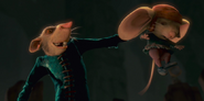 Botticelli preparing to kill Despereaux
