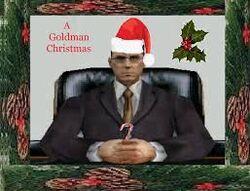 Goldman festive