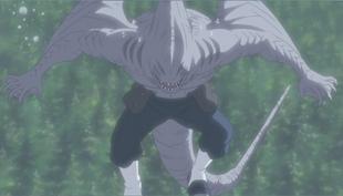 Kisame's Shark form