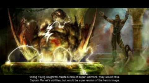 Mortal Kombat VS DC Universe Shang Tsung's Ending