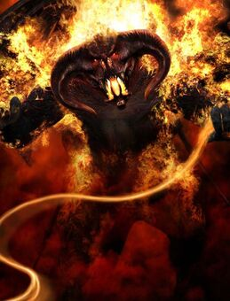 Lord of the Rings Balrog 15