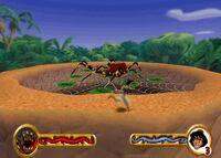 Aladdin vs. The Arachnid
