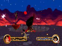 Aladdin vs. Nasira & Jafar