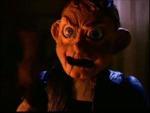 Pinocchio screeching