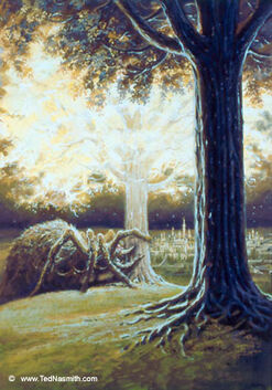 Ungoliant at The Two Trees