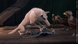 White Wolf IN Angry