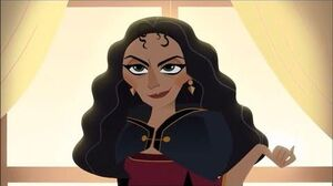 Tangled- the Series - What the Hair?! - Nightmare with Mother Gothel - CLIP