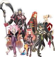 The Six God Generals