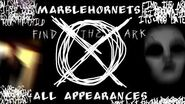 Every Slenderman Appearance in MarbleHornets (6 20 14)