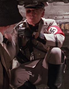 Glove slapping Leibstandarte-SS Adolf Hitler Standartenführer