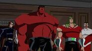 Hydra and red hulk