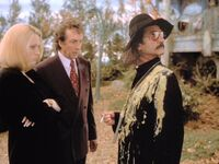 Carrigan & Dibs with Father Guido Sarducci