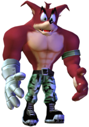 Crunch Bandicoot The Wrath of Cortex