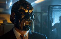 Richard Sionis Black Mask