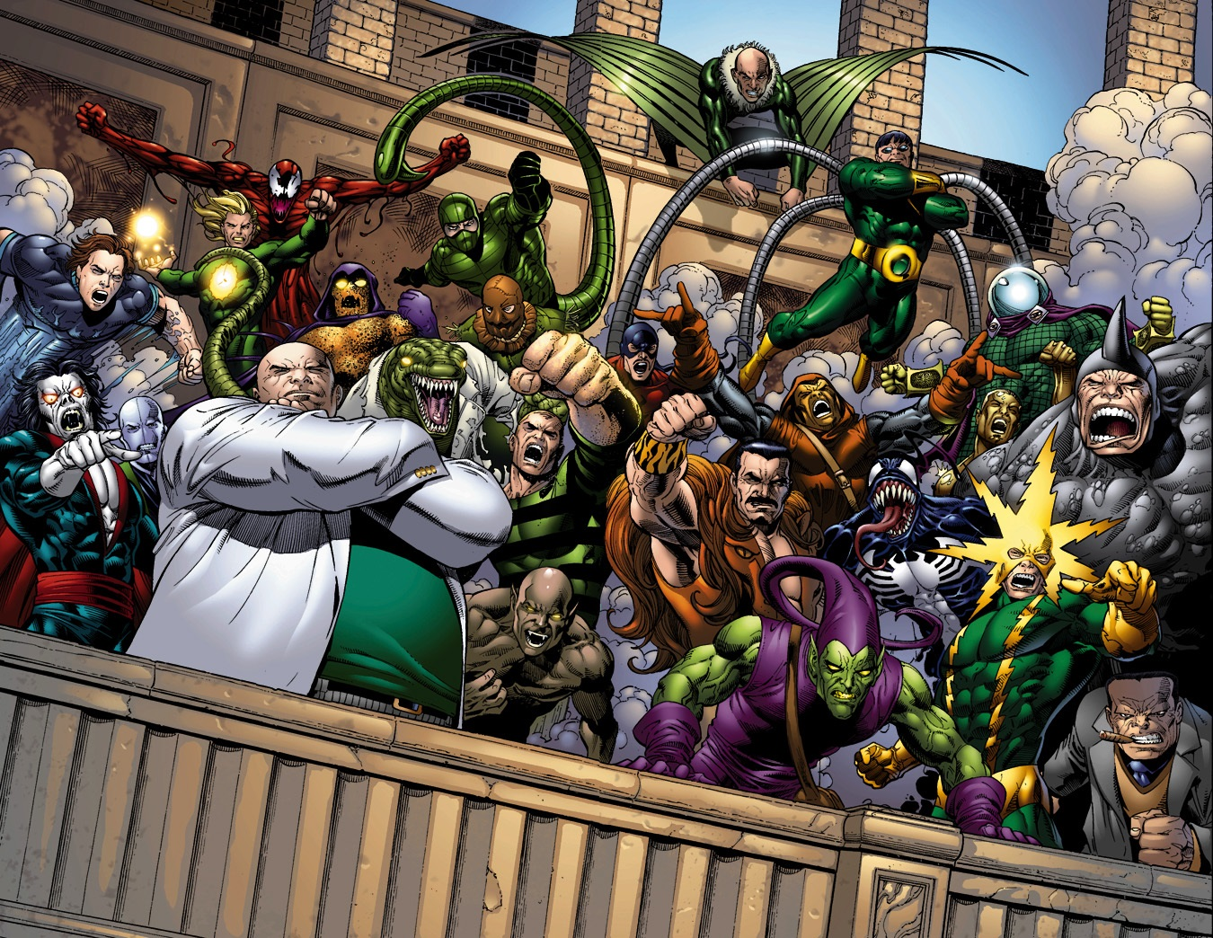Sinister Six | Villains Wiki | FANDOM powered by Wikia