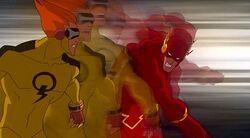 The Flash vs. Johnny Quick