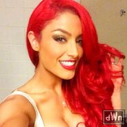 Eva Marie Backstage