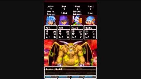Dragon Quest Hand of the Heavenly Bride 97 Boss Bjorn the Behemoose