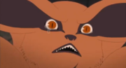 Kurama Crying Anime