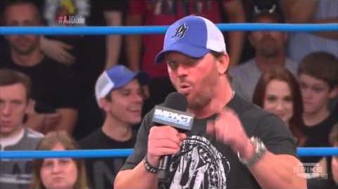 Impact Wrestling Live 09 19 2013 AJ Styles shoots on Dixie Carter Dixie shoots on AJ (Heel Turn)-0