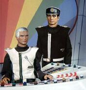 Captain Black with Colonel White