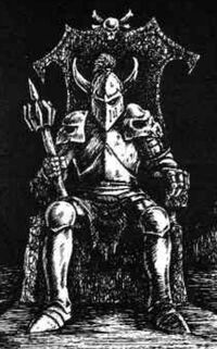 Lord Mortis (throne room)